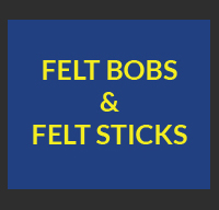 Felt Bobs and Felt Sticks