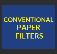 conventional paper filter